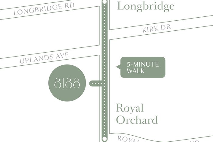 8188 yonge-area map