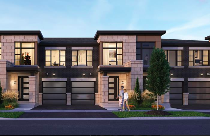 horizons modern towns-new townhomes in whitby