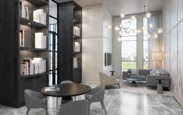 new condos oakville-library-the bronte condos