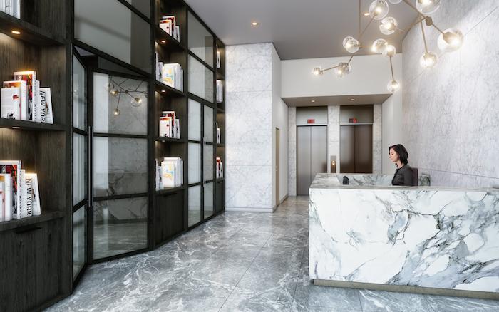 new condos oakville-lobby-the bronte condos