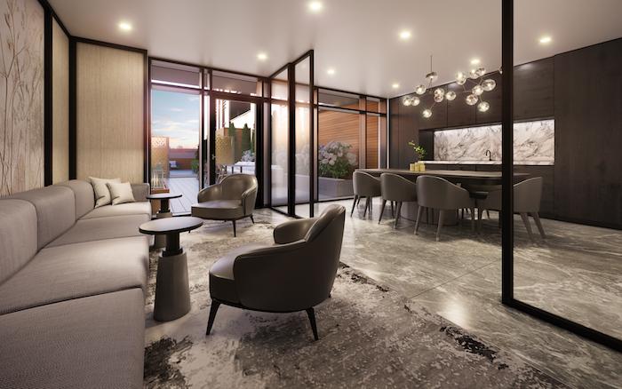 the bronte condos-dining room