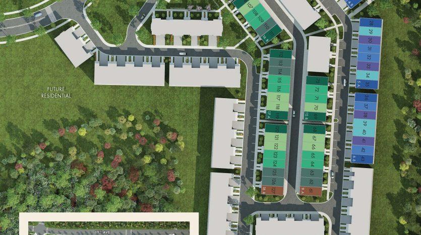 ivylea towns site plan