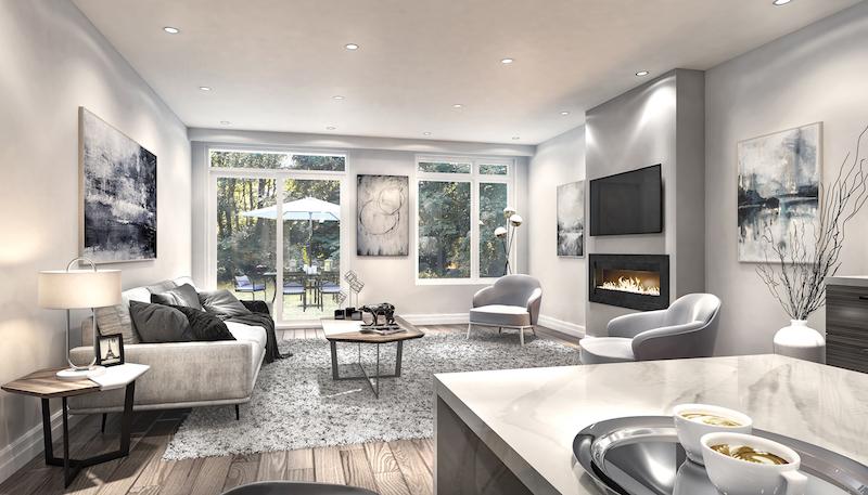 St Clair Village - living room