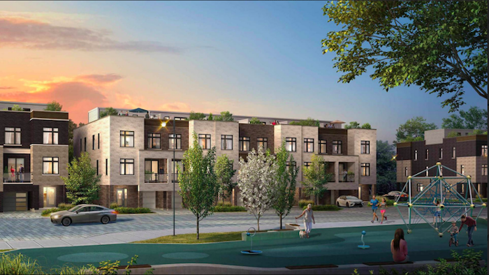 citywalk towns-new pickering townhomes