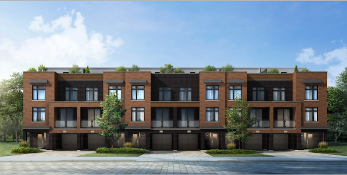 citywalk-new pickering townhomes