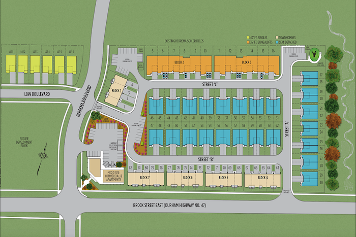 countryside pointe-site plan