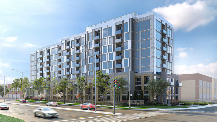 new uptown core condos-exterior view