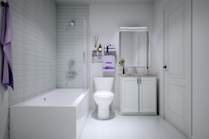 Nuvo Condos - Bathroom
