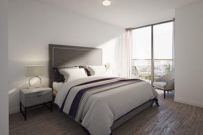 Nuvo Condos - Bedroom