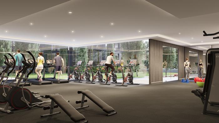 Nuvo Condos - Gym