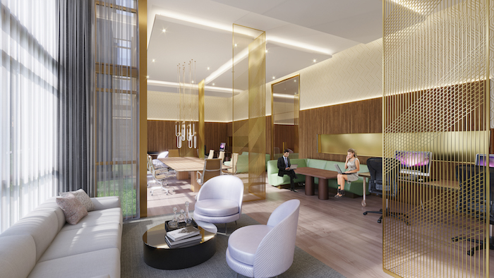 Nuvo Condos - Lounge-Shared Work Space