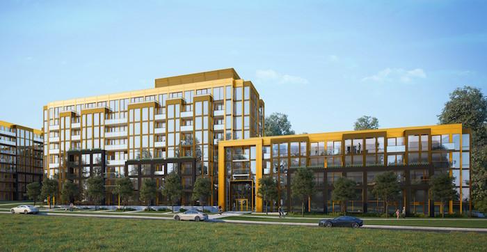 Nuvo II Building Rendering - 700px - new oakville condos