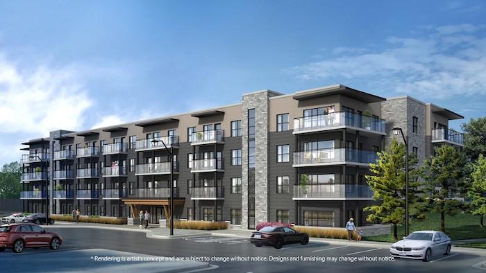Lackner Ridge Condos - exterior view - 1101 lackner boulevard