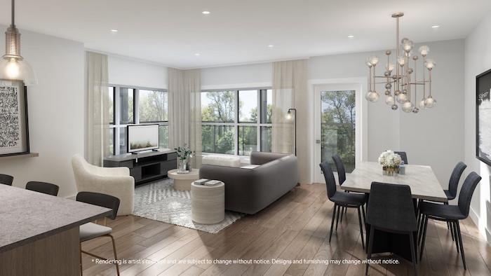 Lackner Ridge Condos - living/dining room