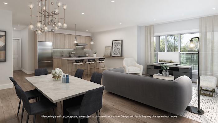 Lackner Ridge Condos - Living Room/Kitchen