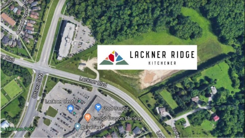 Lackner Ridge - site - new condos kitchener
