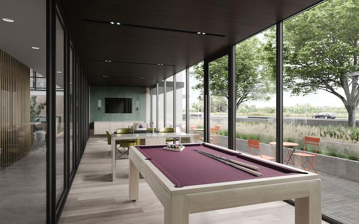 North Oak Condos - Games Lounge