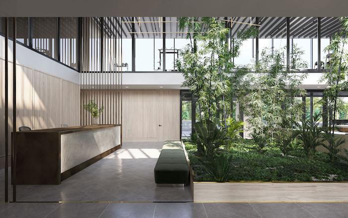 North Oak Condos - Indoor Garden