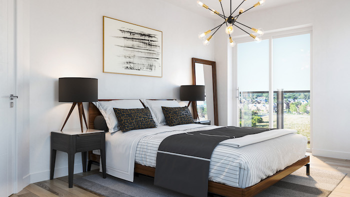 Presto Modern Towns-bedroom