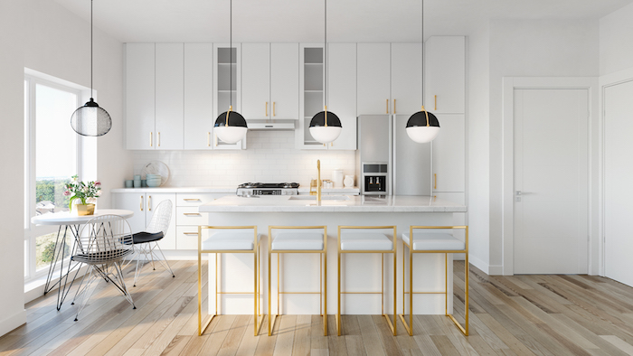 Presto Modern Towns-kitchen-new malvern townhomes