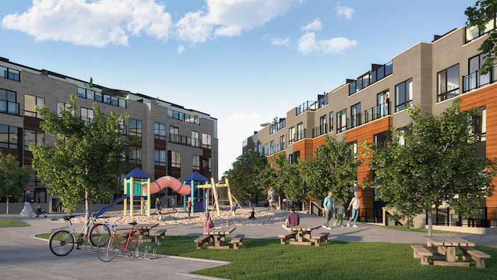 Presto Modern Towns-plaza view-new scarborough townhomes