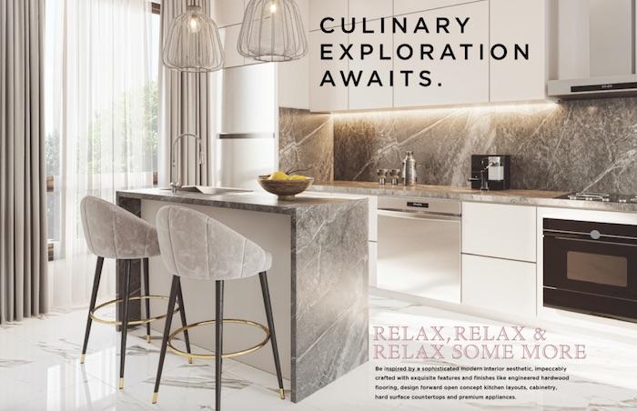 Rose Hill Condos - kitchen