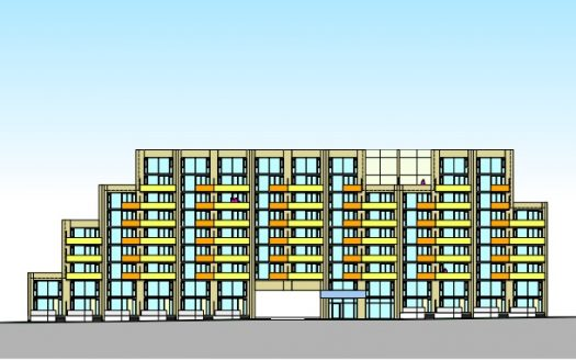 4700 Bathurst Street Condos - new condos in willowdale - side rendering