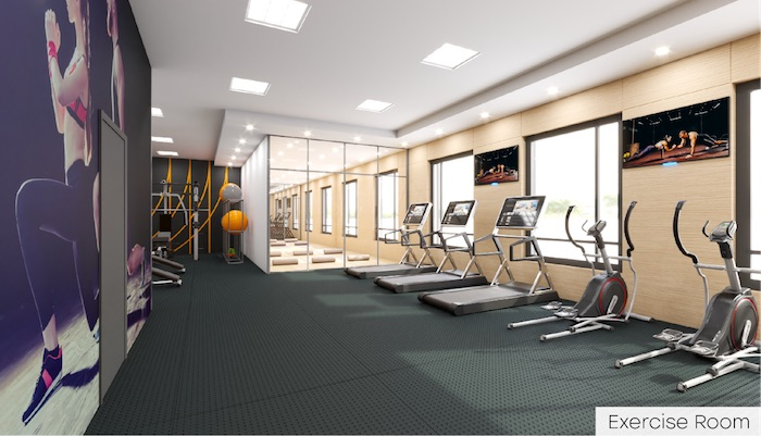 Nahid Kennedy Condos - exercise room