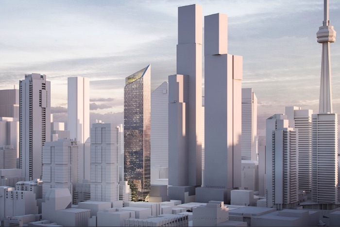 240 Adelaide West - skyline view - new entertainment district condos