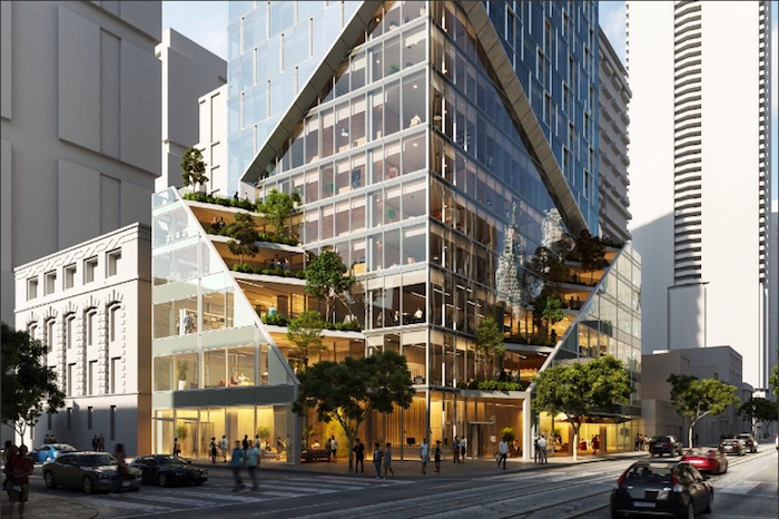 240 Adelaide West - street view - new entertainment district condos