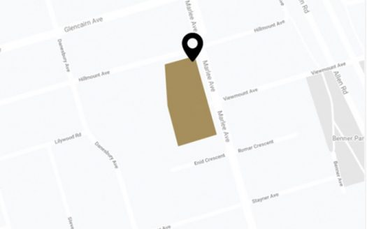 412 Marlee Ave - location map - new glen park condos