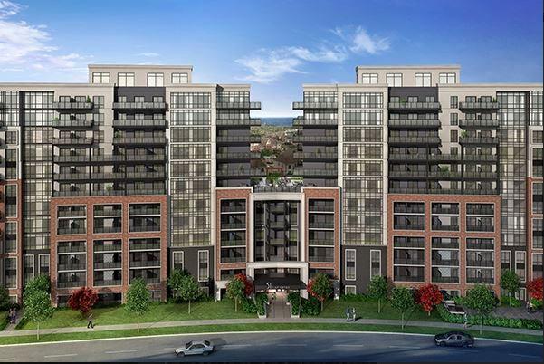 MODO Condos - front view - 51 clarington boulevard