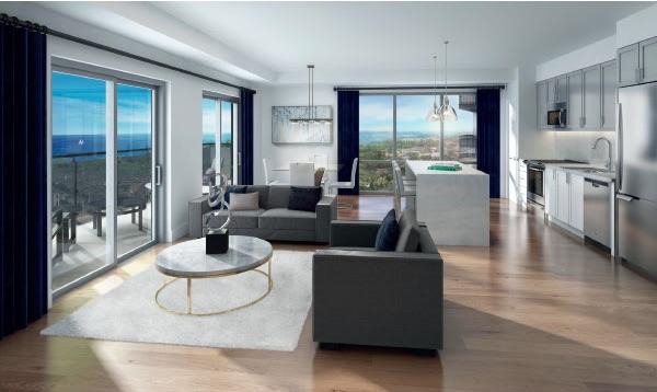 MODO Condos - interior view - new bowmanville condos