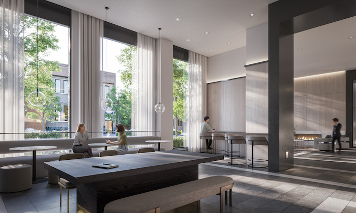1 Jarvis Condos - Co-working-Lounge