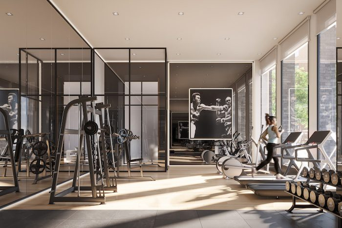 1 Jarvis Condos - Fitness-Centre