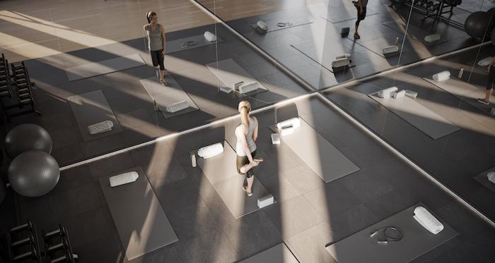 1 Jarvis Condos - Yoga-Studio