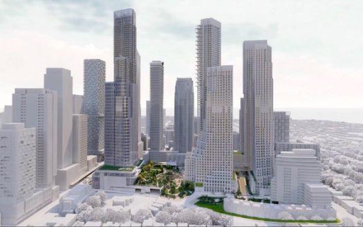 2180 Yonge St Condos - aerial view - new condos yonge eglinton