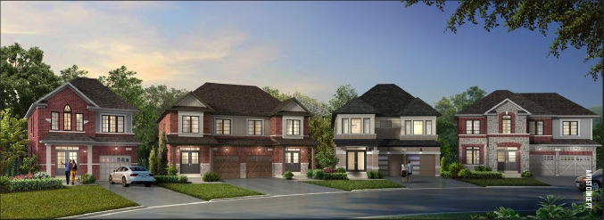 Caledon Trails Homes - street view - new caledon homes