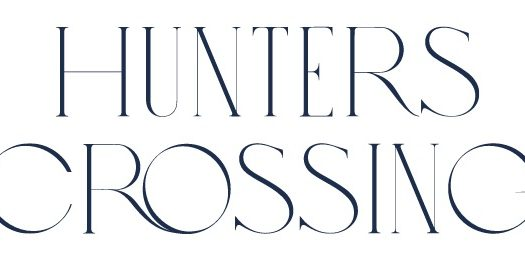Hunters Crossing Towns - logo - new ajax townhomes