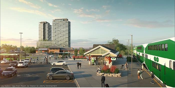 Joy Station Condos - GO station - new greensborough condos