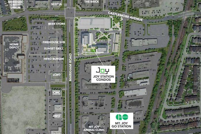 Joy Station Condos - area amenities