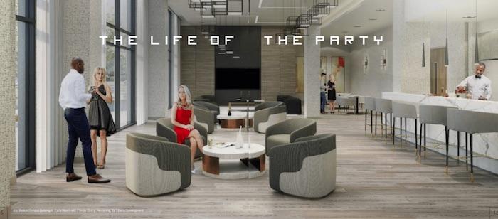 Joy Station Condos - indoor lounge