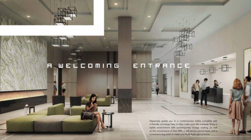 Joy Station Condos - lobby