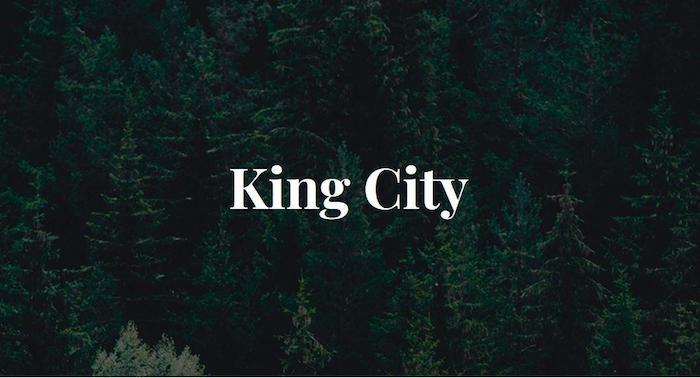 King City Homes by Acorn - logo