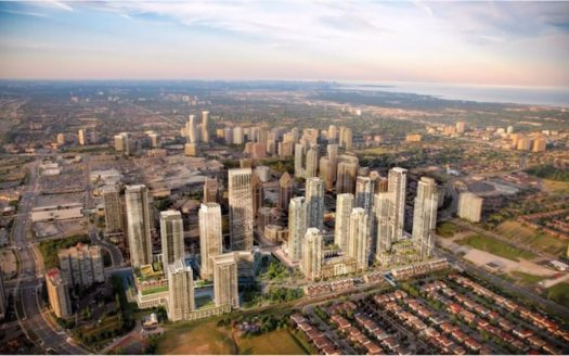 Parkside Village Condos - new mississauga city centre condos - 465 burnhamthorpe rd west