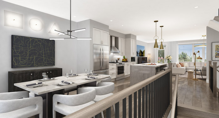 Richmond Hill Grace Townhomes - dining area
