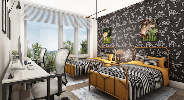 Richmond Hill Grace Townhomes - double bedroom