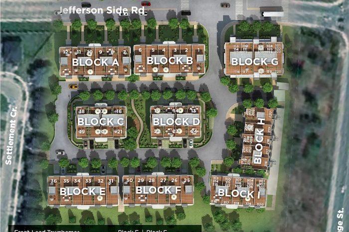 Richmond Hill Grace - site plan