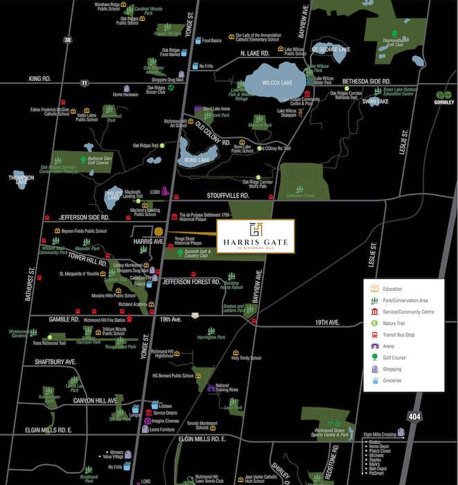Harris Gate Towns - place-map - 700px - new jefferson townhomes