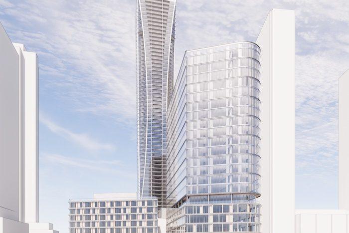 175 Millway Condos - front view - new vaughan metropolitan centre condos